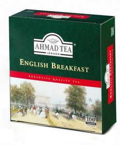 Ceai negru English breakfast 100 pl
